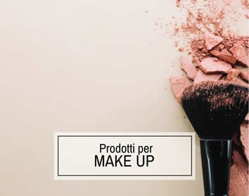 Prodotti per il Make Up Professionale