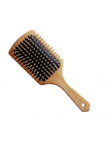 SPAZZOLA PIATTA LEGNO HAIR STYLIST