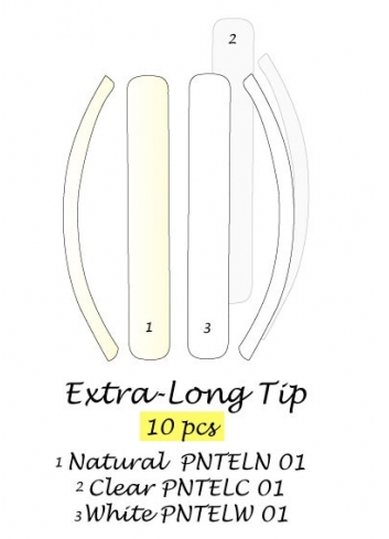 TIPS EXTRA LONG TIP 10 PCS