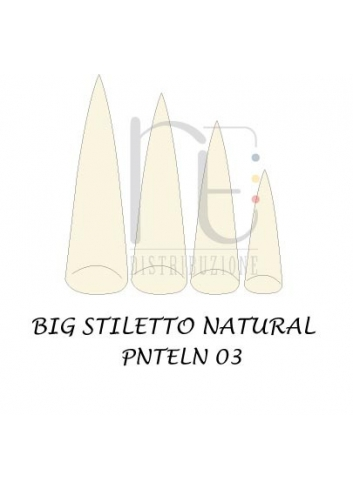 TIPS BIG STILETTO NATURAL